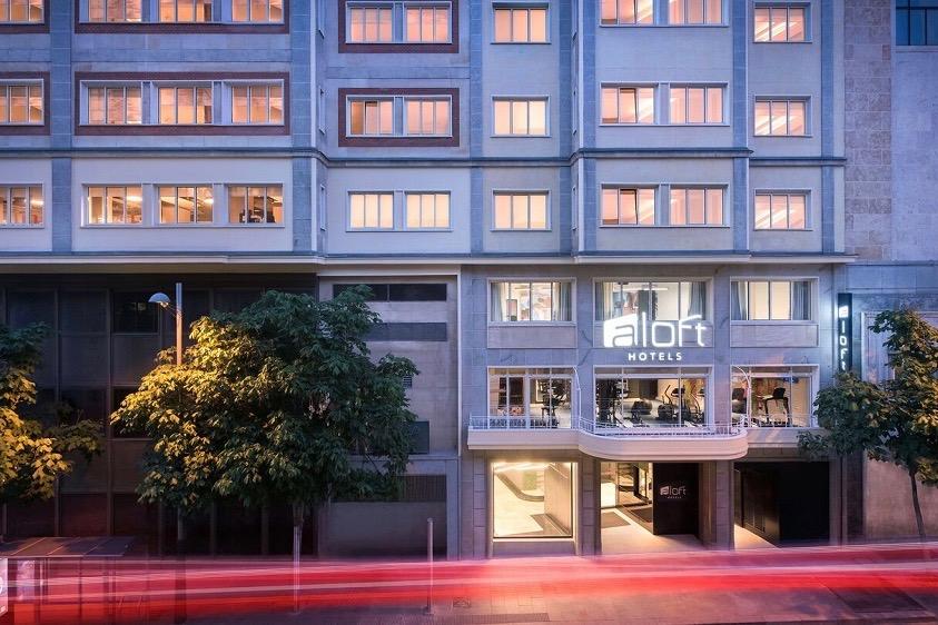 The Aloft Madrid Gran Via commanded €57 million. Photo credit: Marriott International