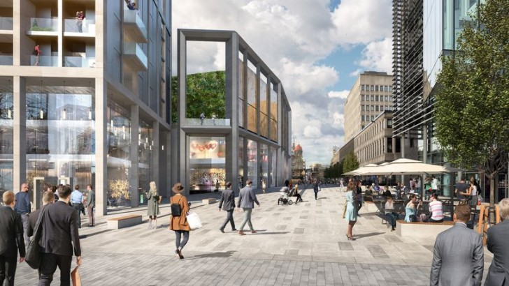Huge leisure, retail and homes scheme for Newcastle city centre
