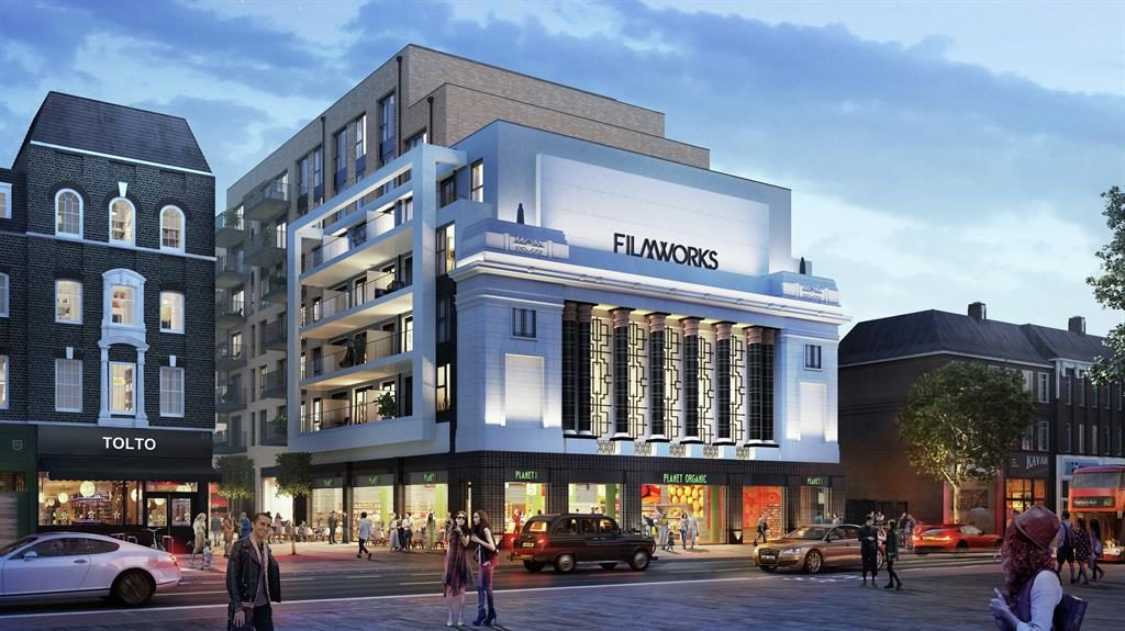 Artist impression of Filmworks development, Ealing