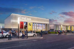 Artist impression of Gyle Centre expansion including a new 800-seat cinema were lodged in June