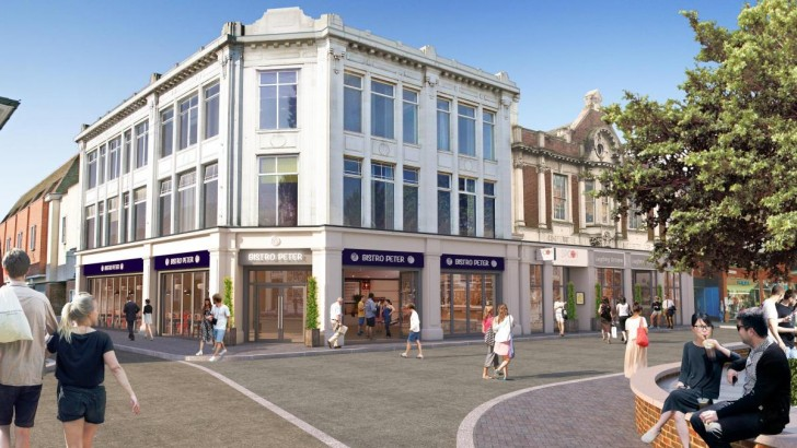 """Colchester """"eyesore"""" site to host homes, shops and restaurants"""