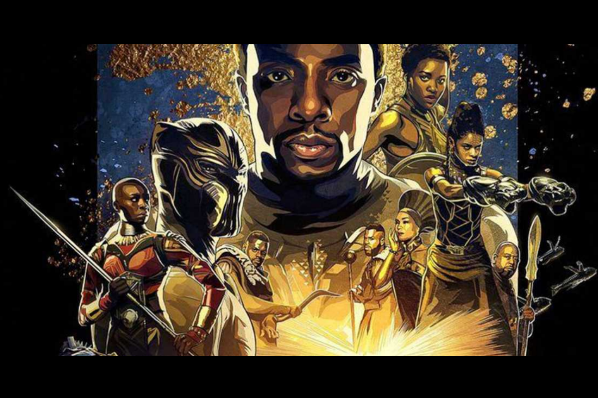 'Black Panther' illustration. Image from Marvel