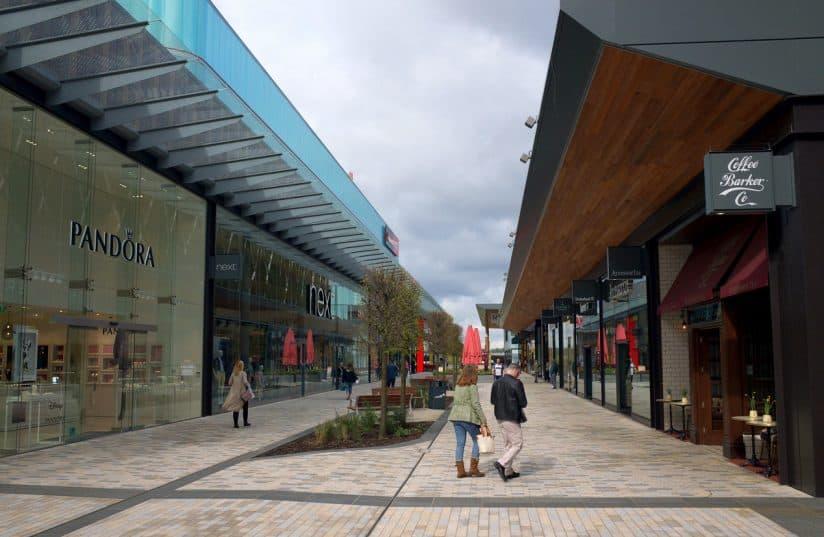 Bracknell retail precinct