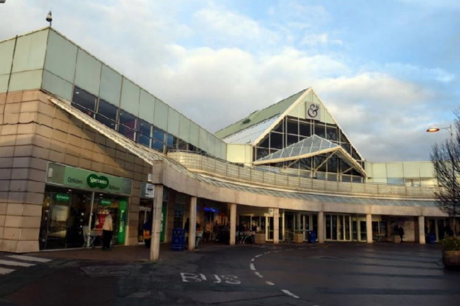 The Gyle Centre which is up for sale with a guide price of 125 million