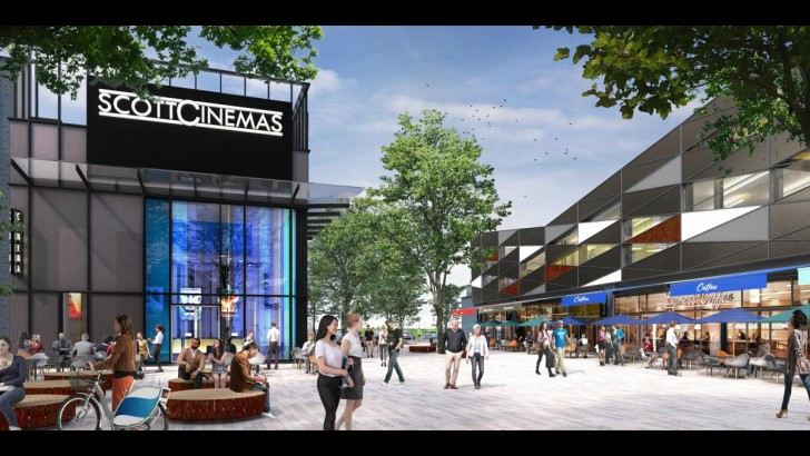 Somerset: new cinema and leisure scheme for growing town centre