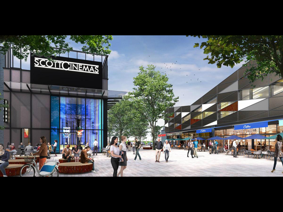 Artist impressions of the new Northgate leisure complex