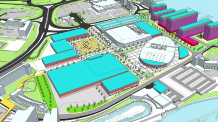 Cardiff: plans revealed for new international sports village