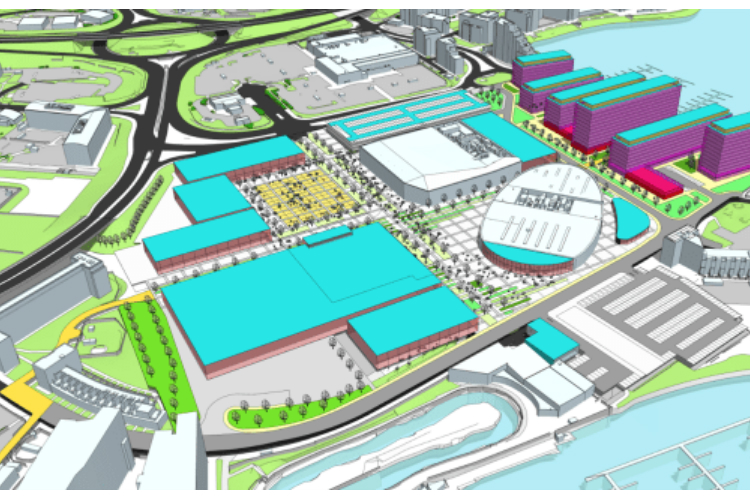 Cardiff international sports village plan