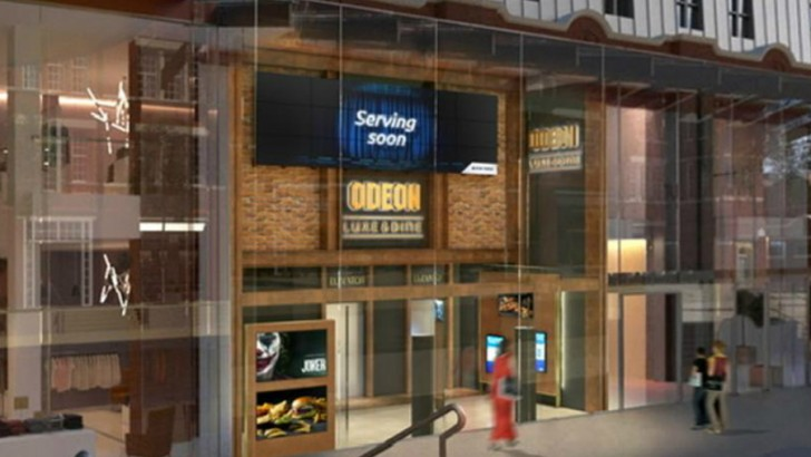 Odeon's new Luxe brand: where premium dining meets high-end cinema