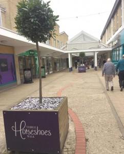 Three Horseshoes shopping centre, Warminster