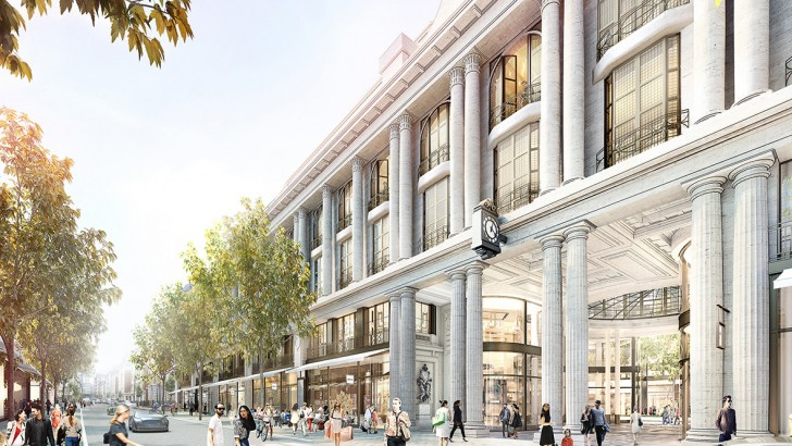 Increased residential, hotel and cinema in London department store redevelopment