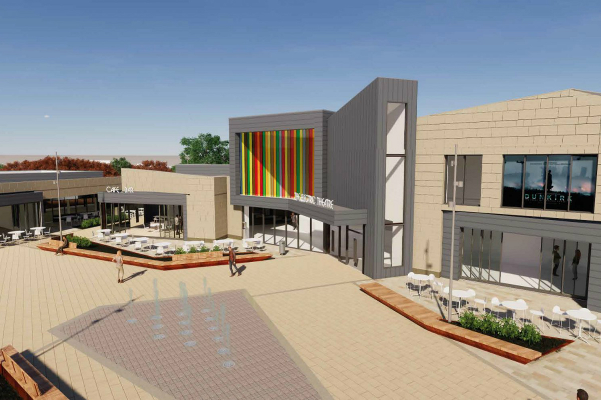 CGI of planned Mulberry Place development, Daventry