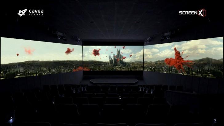 Georgia anticipates new, panoramic, three-screen cinema experience