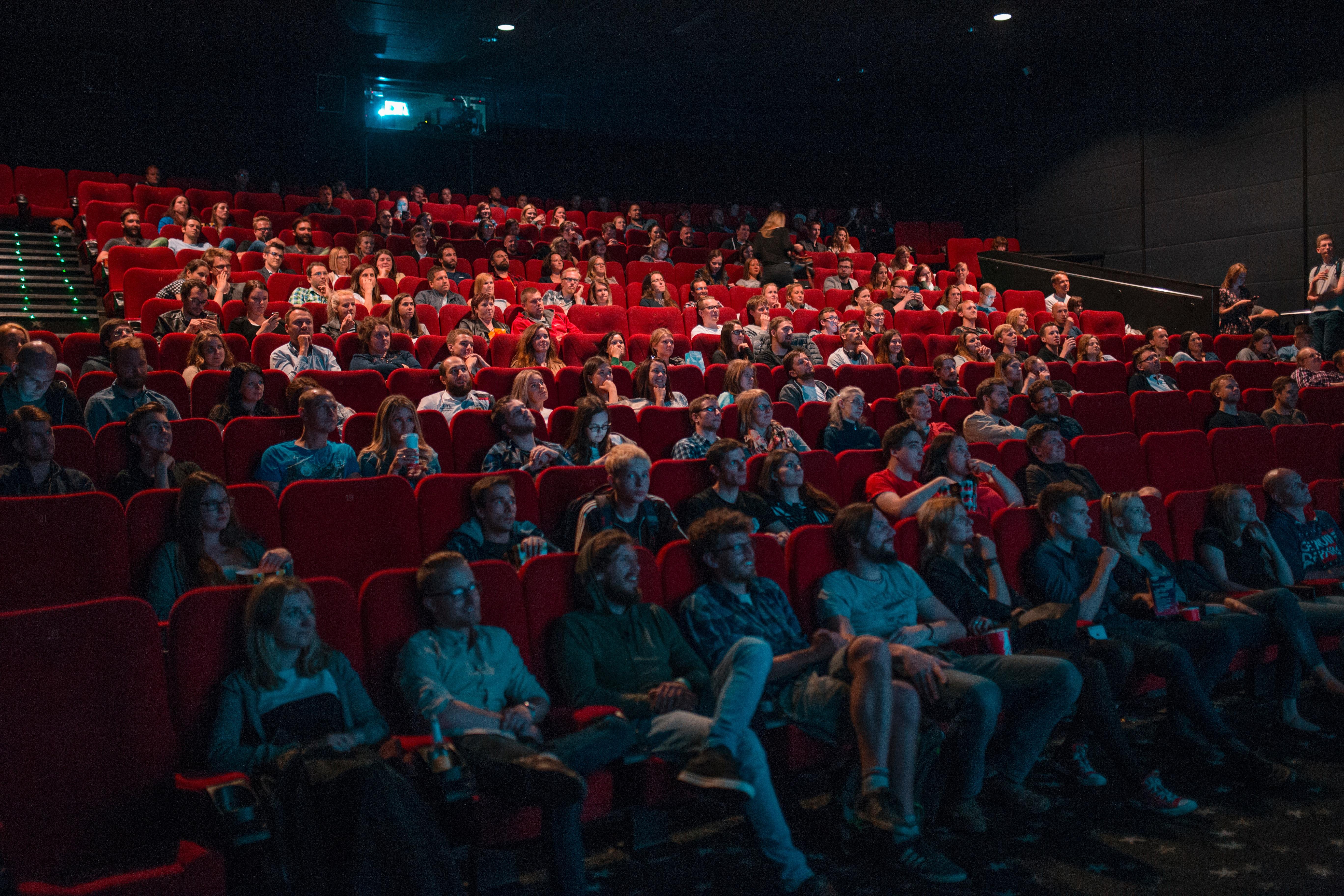 Cinema audience, photo by Krists Luhaers on Unsplash