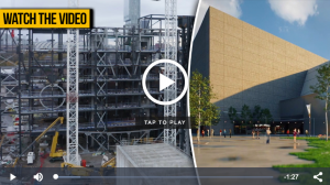 Click to watch video of The Factory arts complex