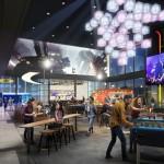 Concept art for new Cineplex cinemas, by Junxion