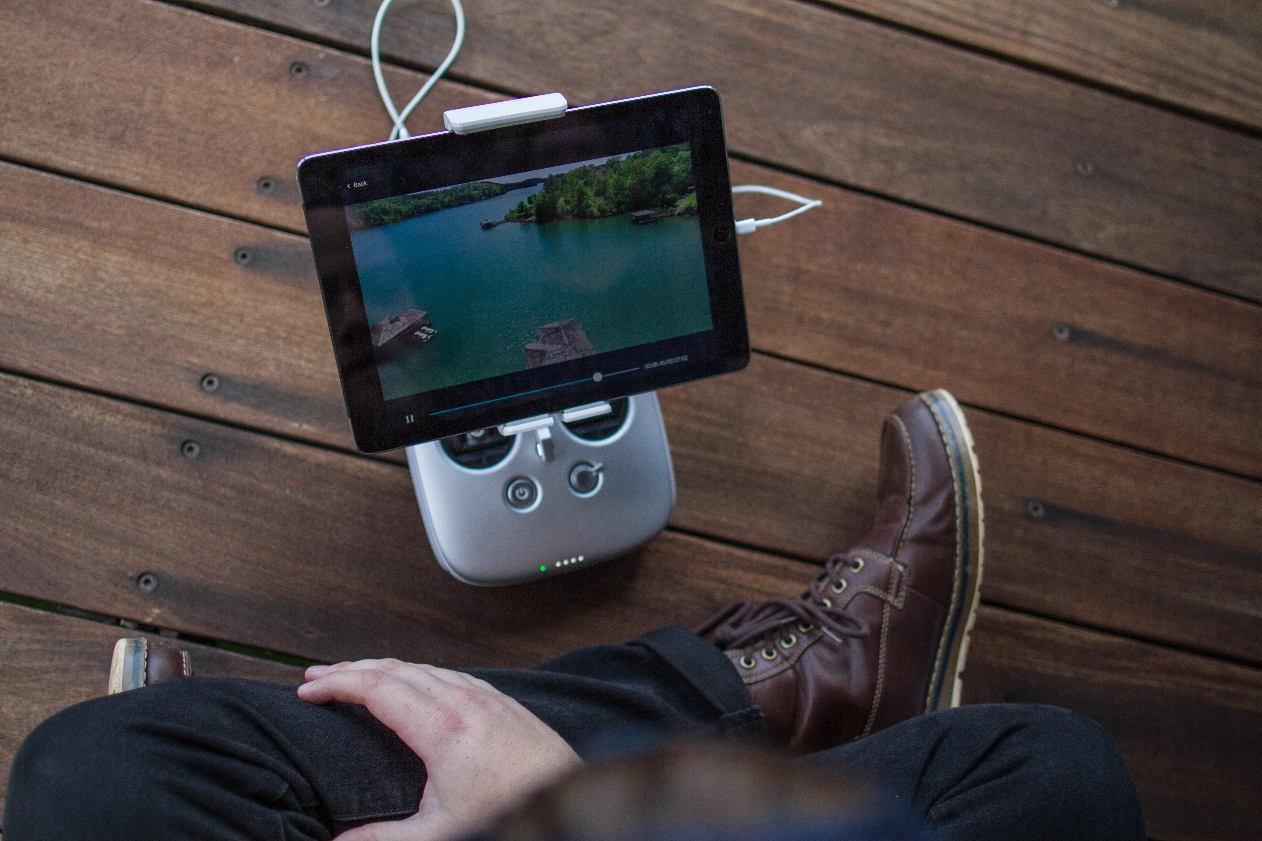 Movie streaming to tablet. Photo by Parker Byrd on Unsplash