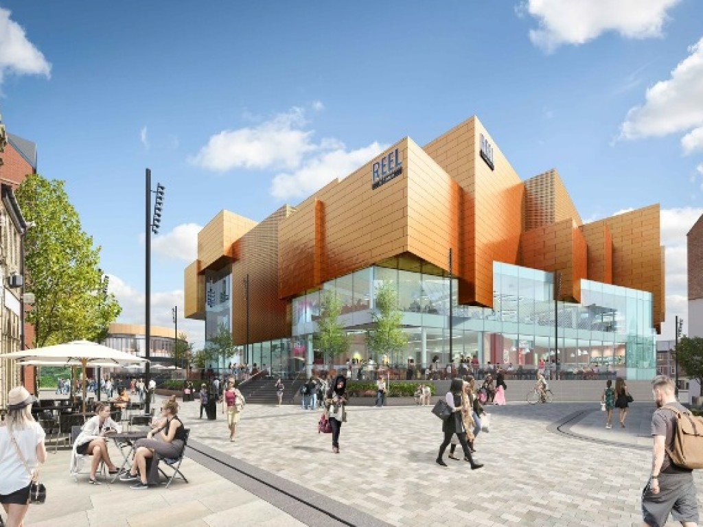Reel Cinemas will be opening their 15th cinema in Rochdale's £250m Riverside leisure development