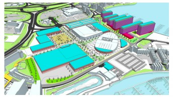 Cardiff: international sports village to include adventure sports