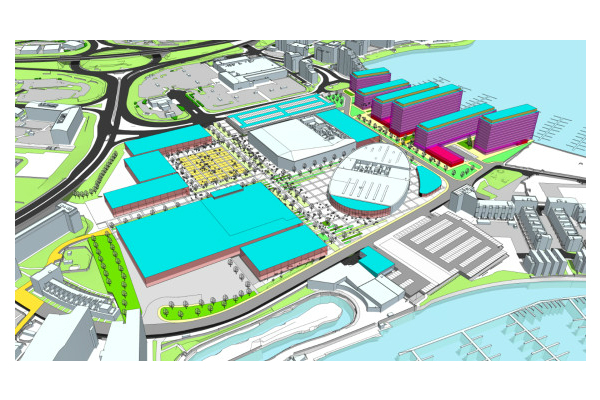 Cardiff international sports village plans
