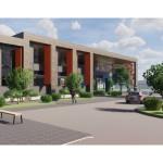 CGI of planned new leisure facilities in Bingham