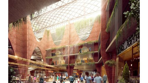 Woods Bagot: artist impression of new Central Market Arcade, Adelaide