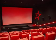 Inside the Cineworld cinema at Vangarde. Photograph - Richard McDougall
