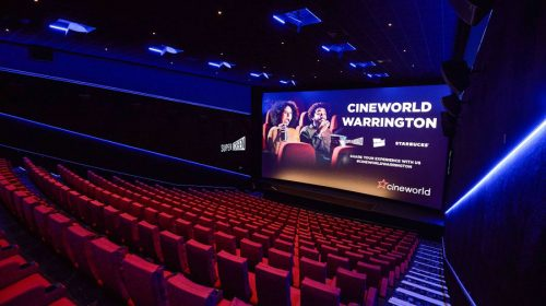 Auditorium at Time Square Cineworld, Warrington