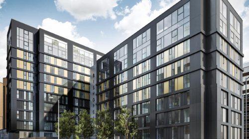 Artist impression of Bishopsgate development, Preston