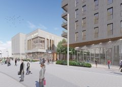 CGI of Beeston Square development