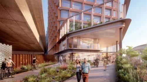 CGI of proposed Westway development
