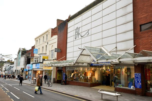 Former BHS store, Torquay (photo by Andy Styles)