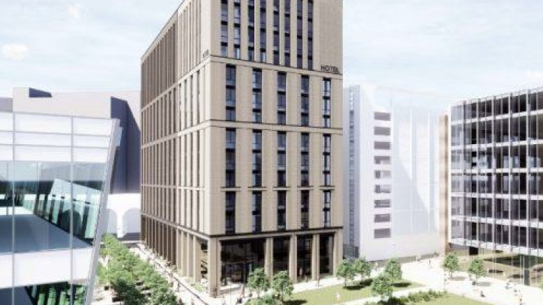 planned hotel for Sovereign Square, Leeds