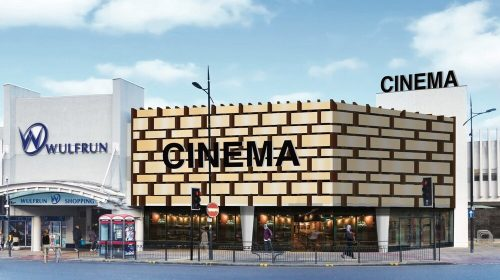 An artist's impression of the proposed new cinema at the Wulfrun Centre