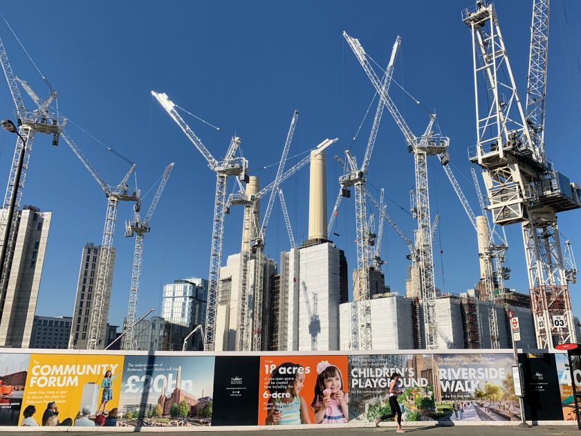 Battersea Power Station (under development).Photo by John Cameron on Unsplash