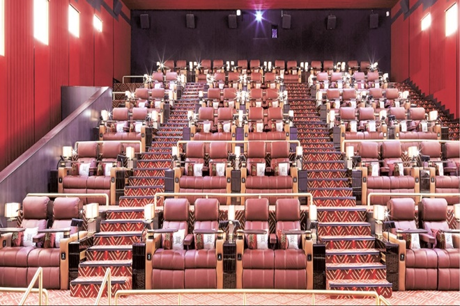 luxury movie theatre, photo Financial Express