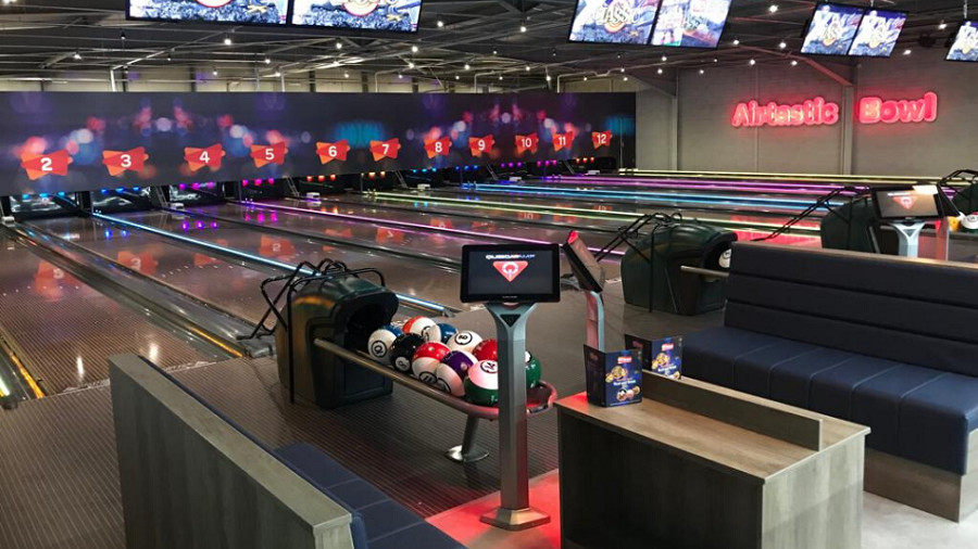 Airtastic bowling alley