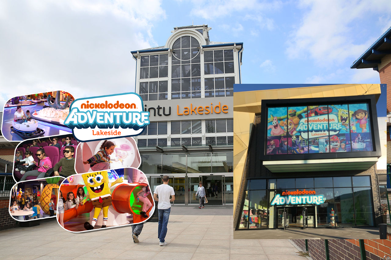 Nickelodeon Adventure at intu Lakeside