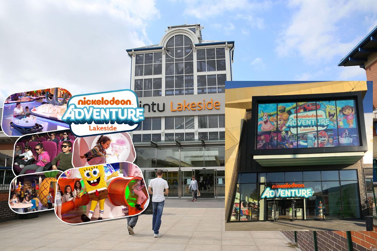 Nickelodeon Adventure at intu Lakeside