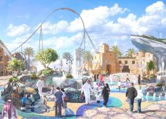 'Mystic Springs' at Six Flags' planned attraction in Qiddiya, KSA
