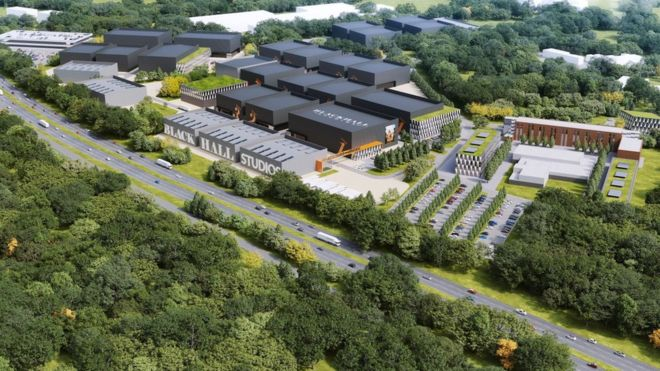 The new studios will be built in the new development at Thames Valley Science Park
