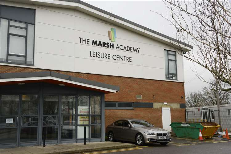 The cinema, being built in the Marsh Academy's leisure centre, will be the only one on the Marsh. Picture- Paul Amos
