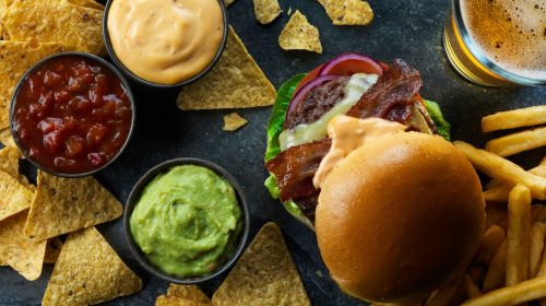 Food at Odeon Luxe and Dine in Islington. You can request extra food via an app mid-movie