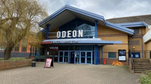 Existing frontage of Guildford Odeon (Image- SurreyLive)