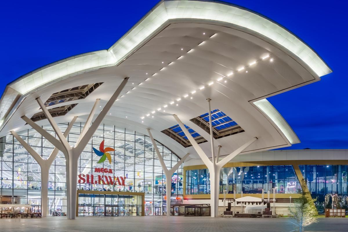 entrance, MEGA SilkWay, Nur-Sultan, Kazakhstan