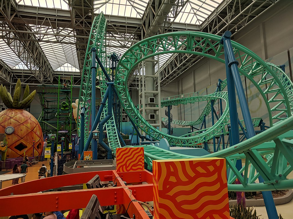 Mall of America theme park. Photo Wikimedia Commons