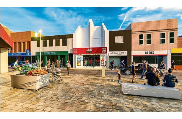 Artist impression of planned Arc Cinema Peterhead