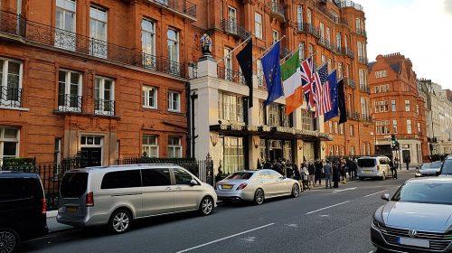 Claridges Hotel, Brook Street entrance