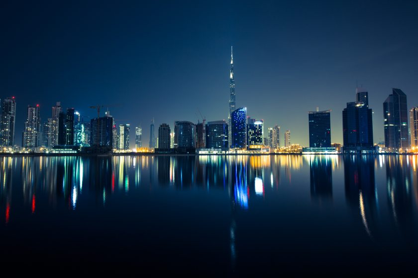 Dubai cityscape by Robert Bock on Unsplash