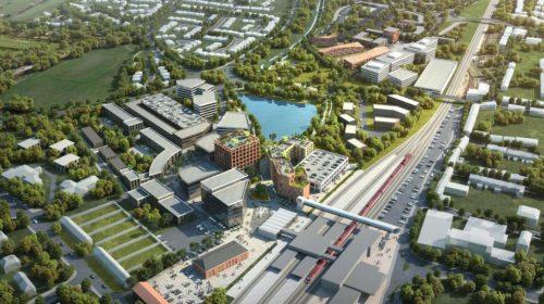 Stafford Station Gateway CGI